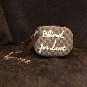 Blind For Love GG Gucci Crossbody